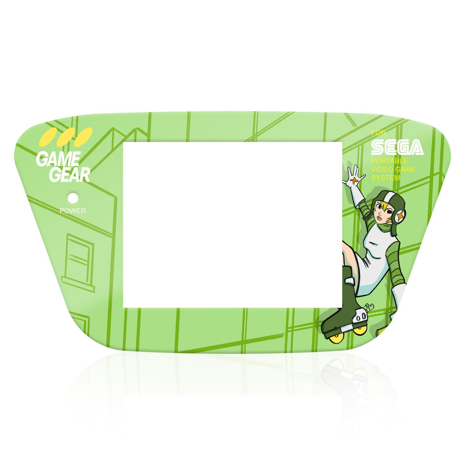 GG Glass Full Frame (UV Jet Set Radio Gum)