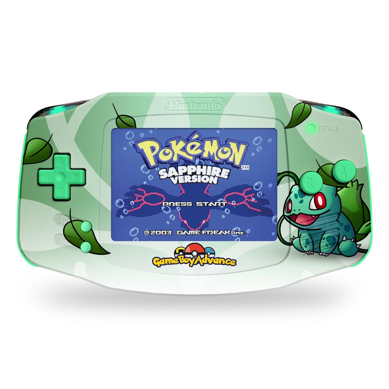 Game Boy Advance: Prestige Edition (UV Bulbasaur)