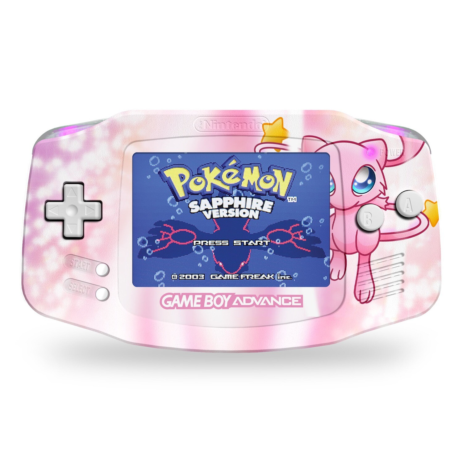 Game Boy Advance: Prestige Edition (UV Mew)