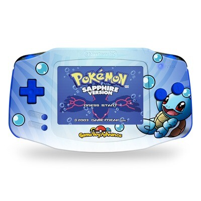 Game Boy Advance: Prestige Edition (UV Squirtle)