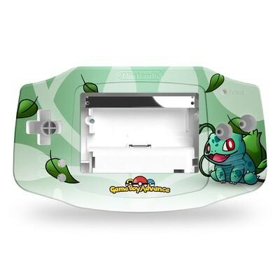Game Boy Advance UV Print Shell Kit (UV Bulbasaur Pokemon)