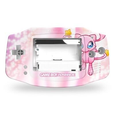 Game Boy Advance UV Print Shell Kit (Mew Pokemon)