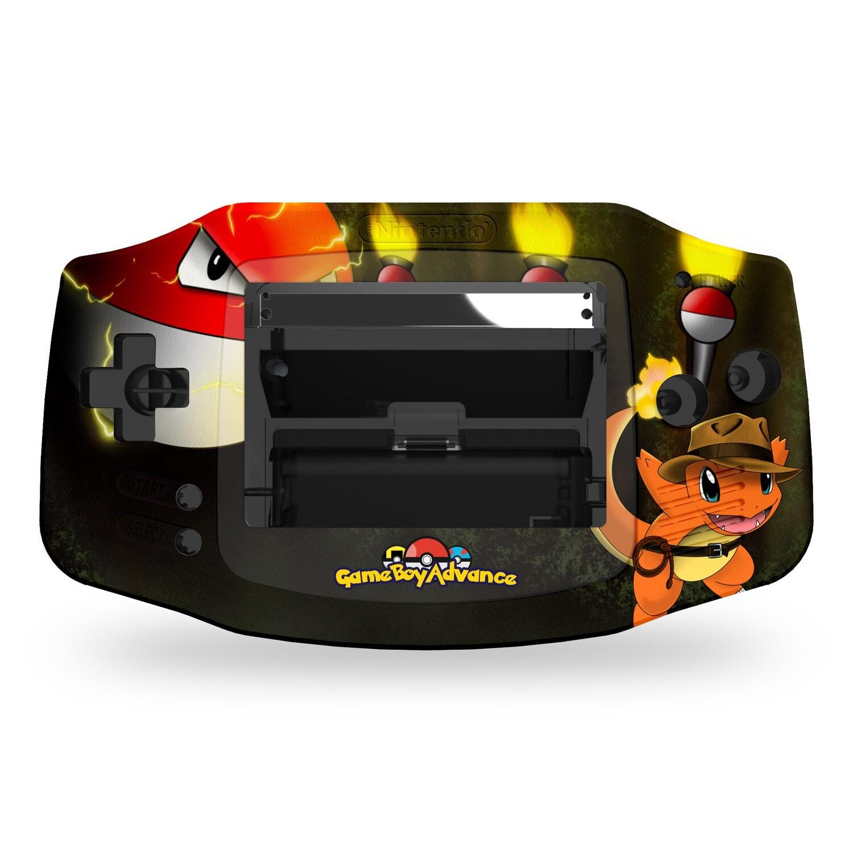 Game Boy Advance Printed Shell (Indiemander Pokemon)