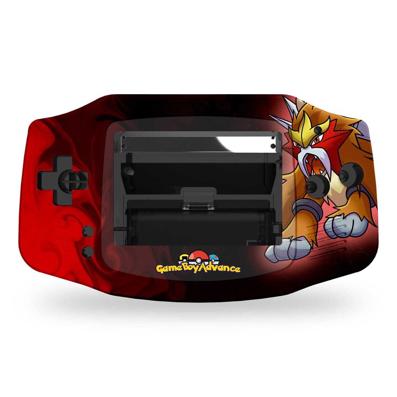 Game Boy Advance Printed Shell (Entei Pokemon)