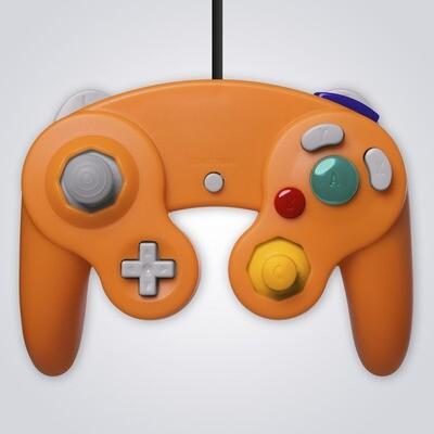 GameCube Controller Wired (Orange)