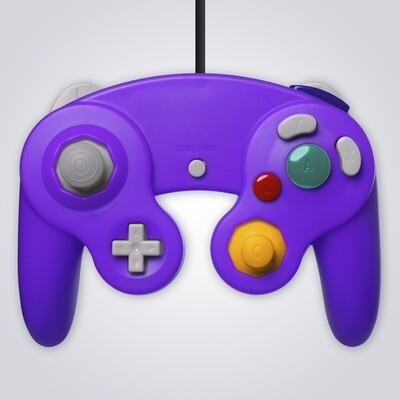 GameCube Controller Wired (Purple)