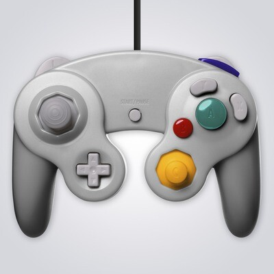 GameCube Controller Wired (Silver)