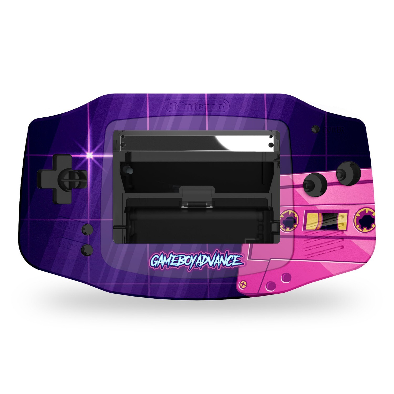 Game Boy Advance Printed Shell (Vaporwave Tape)