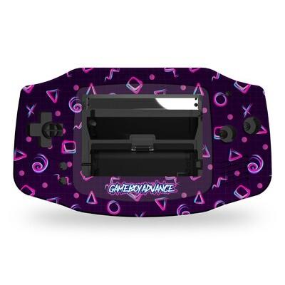 Game Boy Advance UV Print Shell Kit  (UV 80s Fresh)
