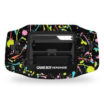 Game Boy Advance UV Print Shell Kit (Splash)
