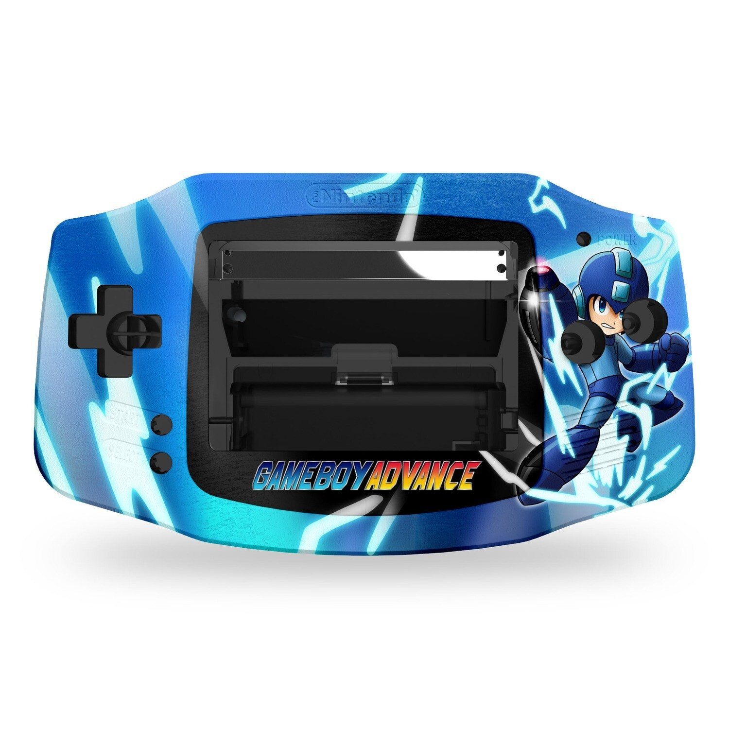 Game Boy Advance Printed Shell (Megaman)