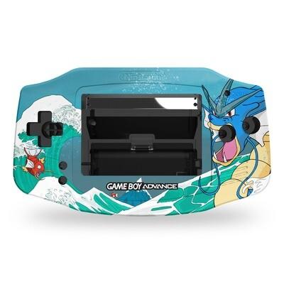 Game Boy Advance UV Print Shell Kit (Gyarados)