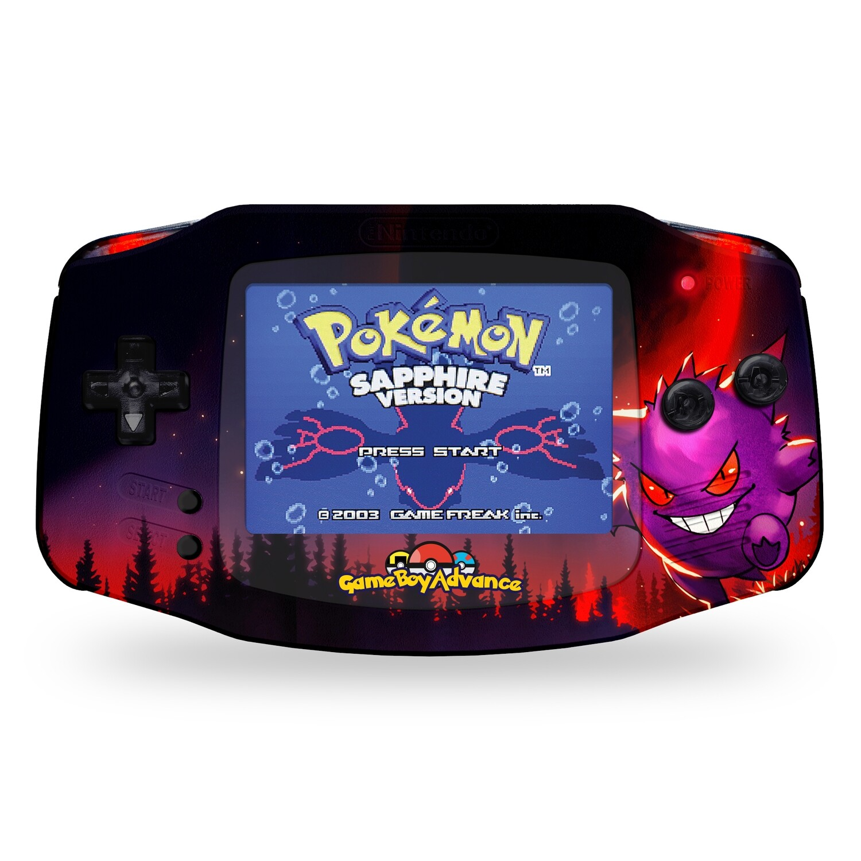 Game Boy Advance: Prestige Edition (UV Gengar Pokemon)