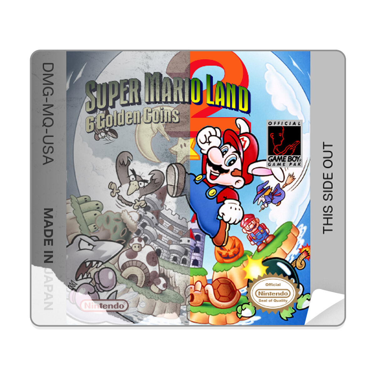 Game Boy Original Printed Sticker (Design Your Own)