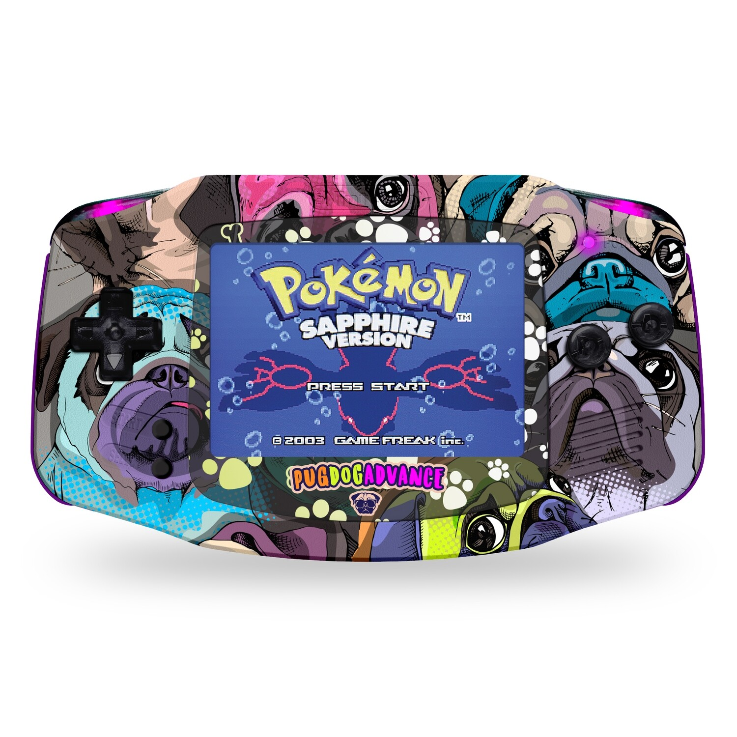 Game Boy Advance: Prestige Edition (UV Pug Dog Advance)