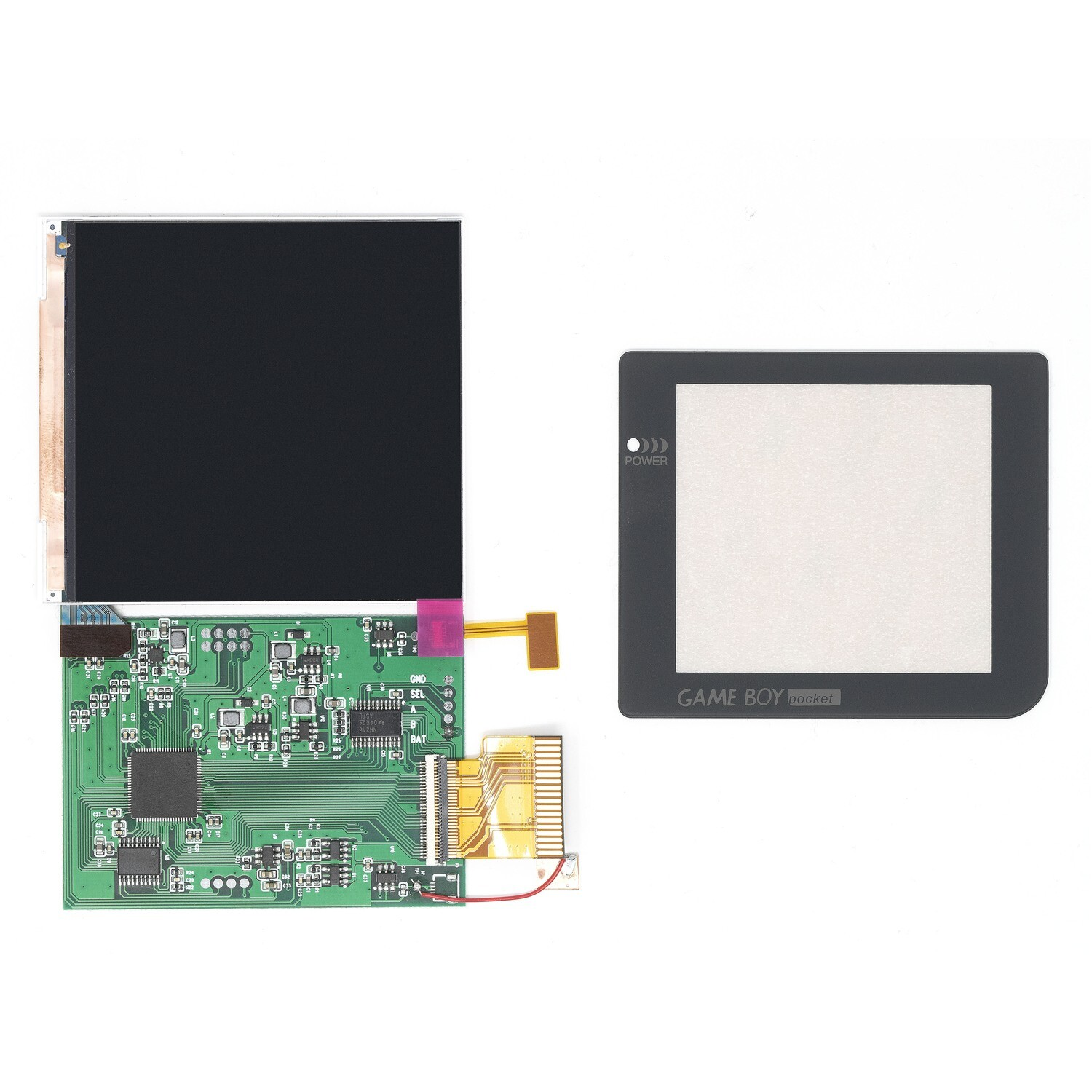 Game Boy Pocket IPS OSD Screen Kit