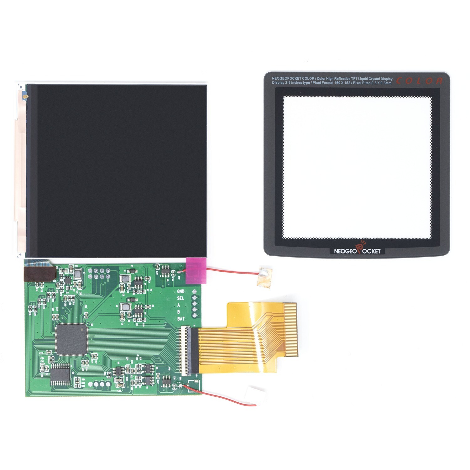 Neo Geo Pocket Color IPS Screen Kit