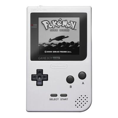 Game Boy Pocket: Prestige Edition (White)