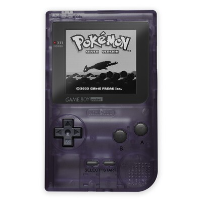 Game Boy Pocket: Prestige Edition (Clear Purple)