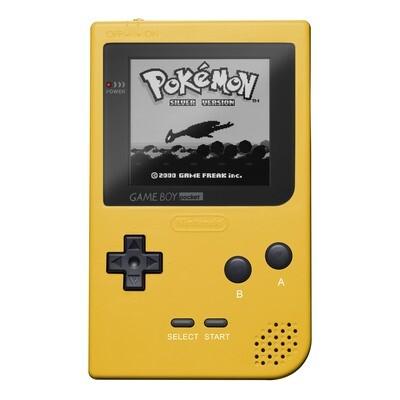 Game Boy Pocket: Prestige Edition (Yellow)