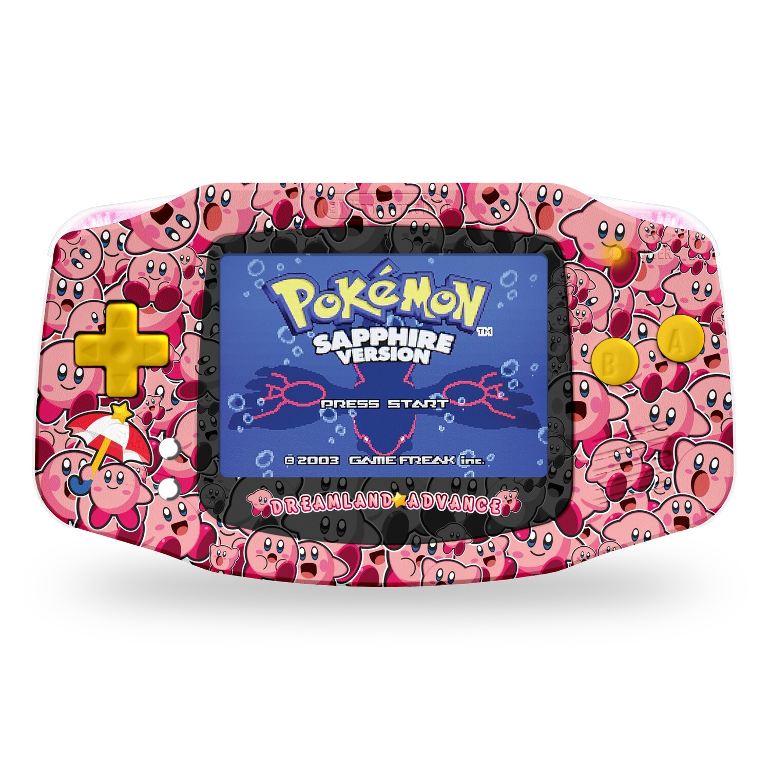 Game Boy Advance: Prestige Edition (Kirby)