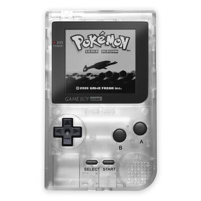 Game Boy Pocket: Prestige Edition (Clear)