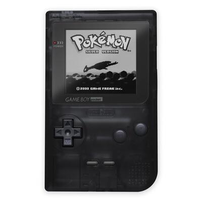 Game Boy Pocket: Prestige Edition (Clear Black)