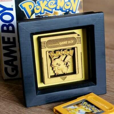 Cartridge Shadow Box (Pikachu)