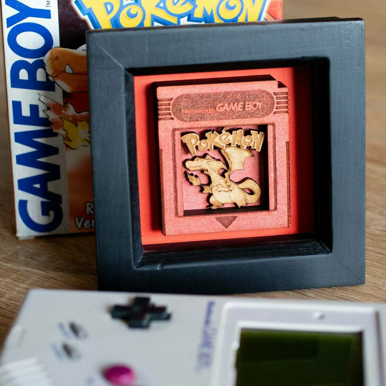 Cartridge Shadow Box (Charizard)