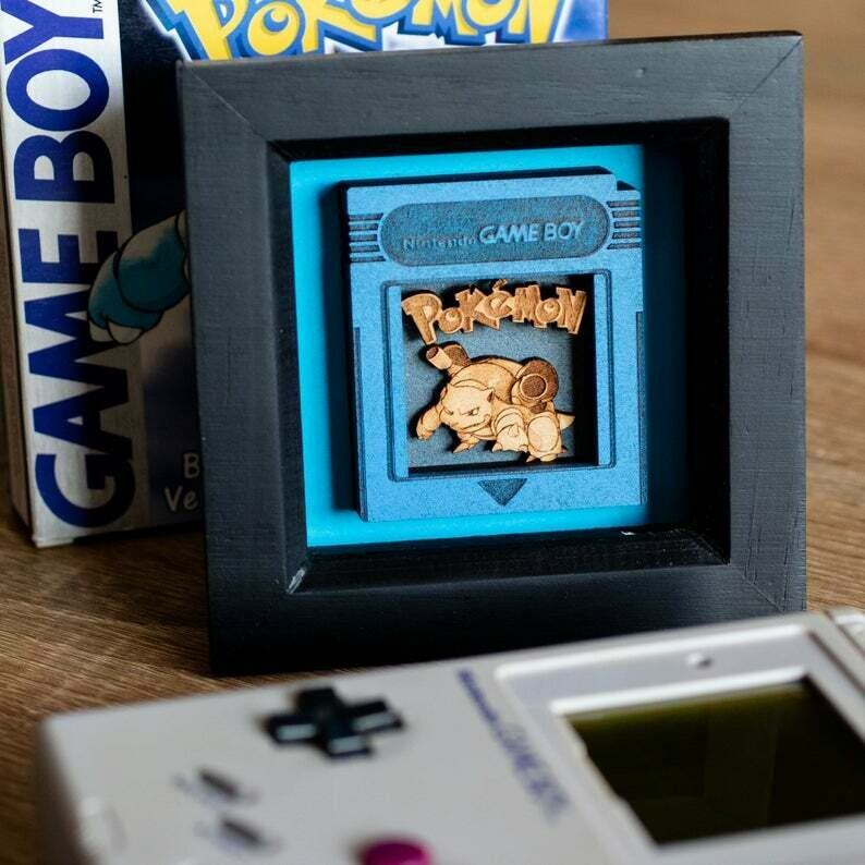 Cartridge Shadow Box (Blastoise)