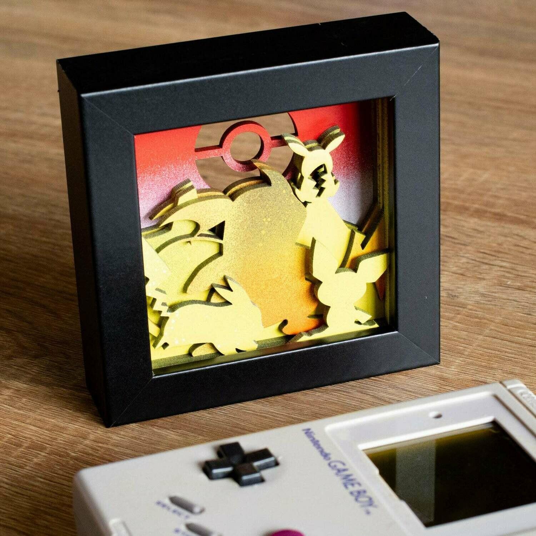 Shadow Box (Pikachu)