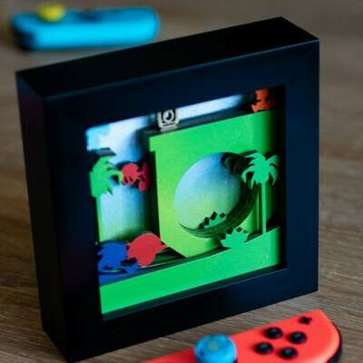 Shadow Box (Sonic Green Hill)