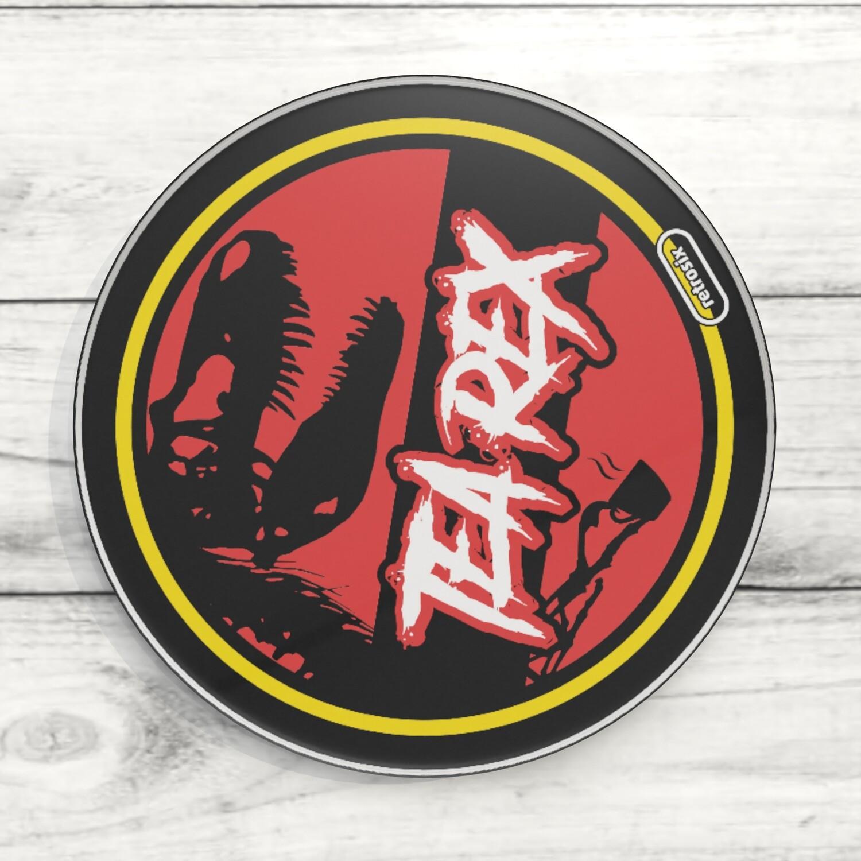 Coaster Acrylic (Tea Rex)