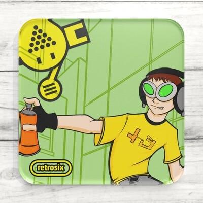 Drinks Coaster (Jet Set Radio Beat)