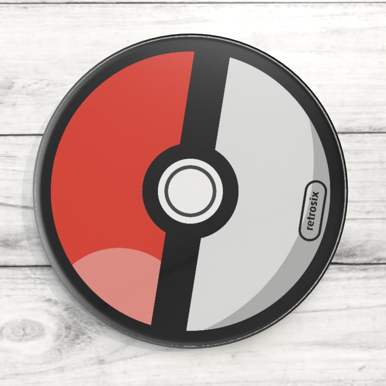 Coaster Acrylic (Pokeball)