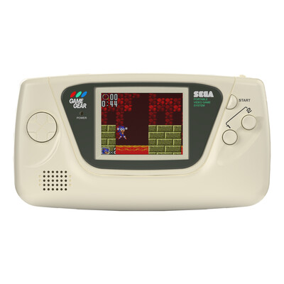 Sega Game Gear: Prestige Edition (Cream White)