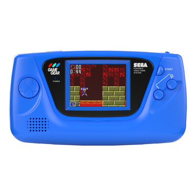Sega Game Gear: Prestige Edition (Dark Blue)