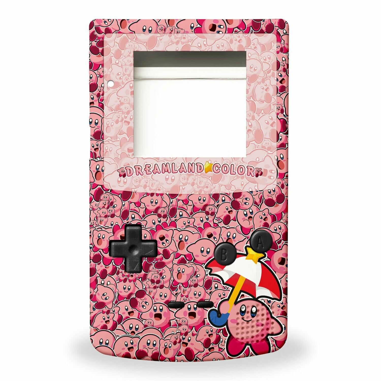 GBC Shell Kit (UV Kirby)