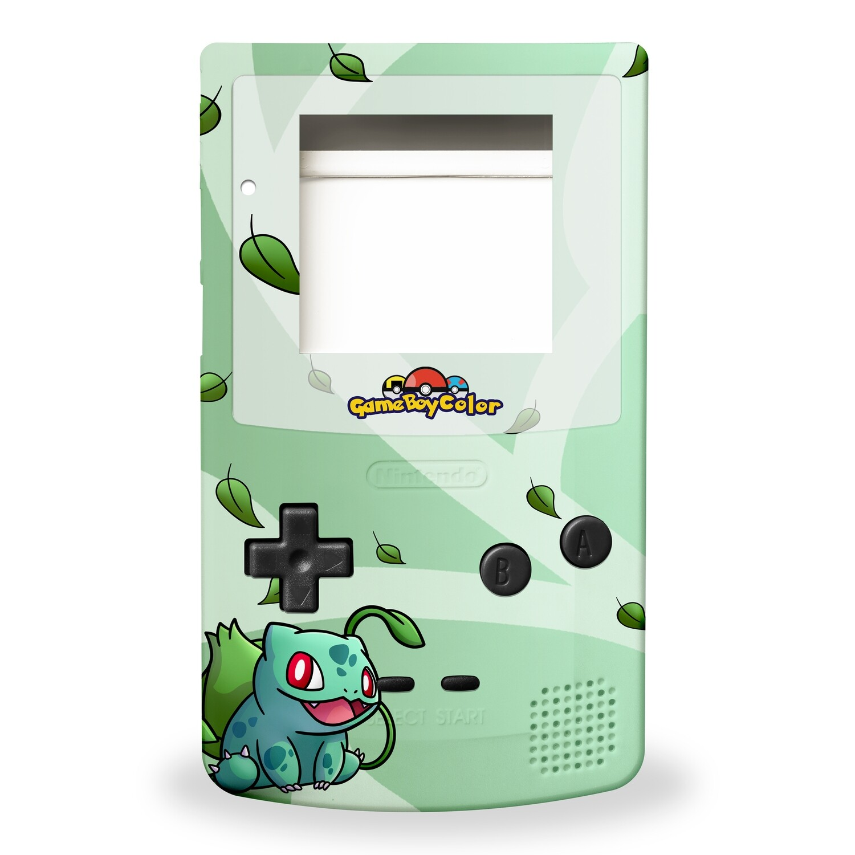 Game Boy Color Printed Shell (Bulbasaur)