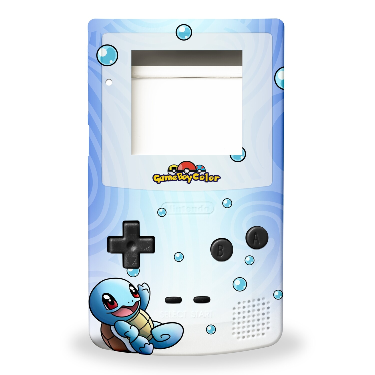 Game Boy Color Printed Shell (Squirtle)