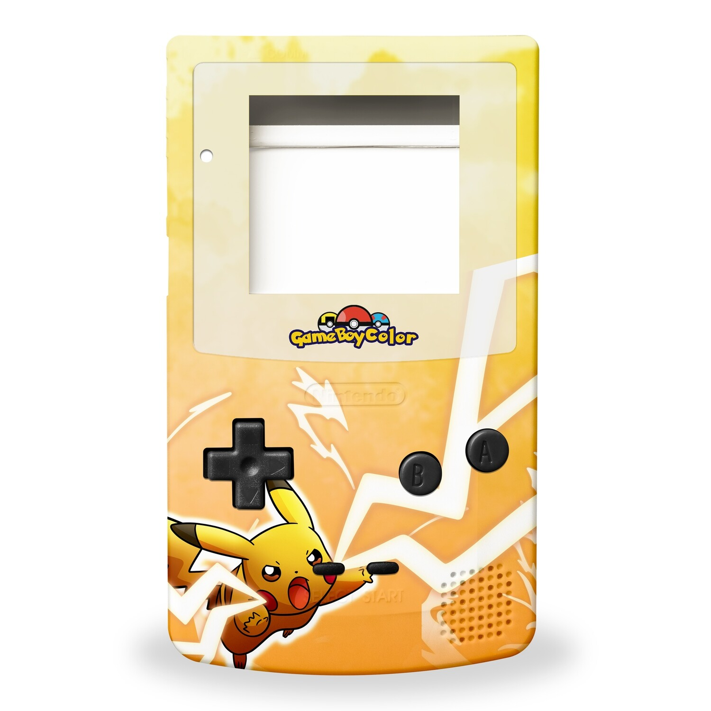 GBC Shell Kit (UV Pikachu)