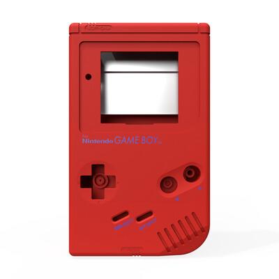 Game Boy Original Shell Kit (Pearl Red)