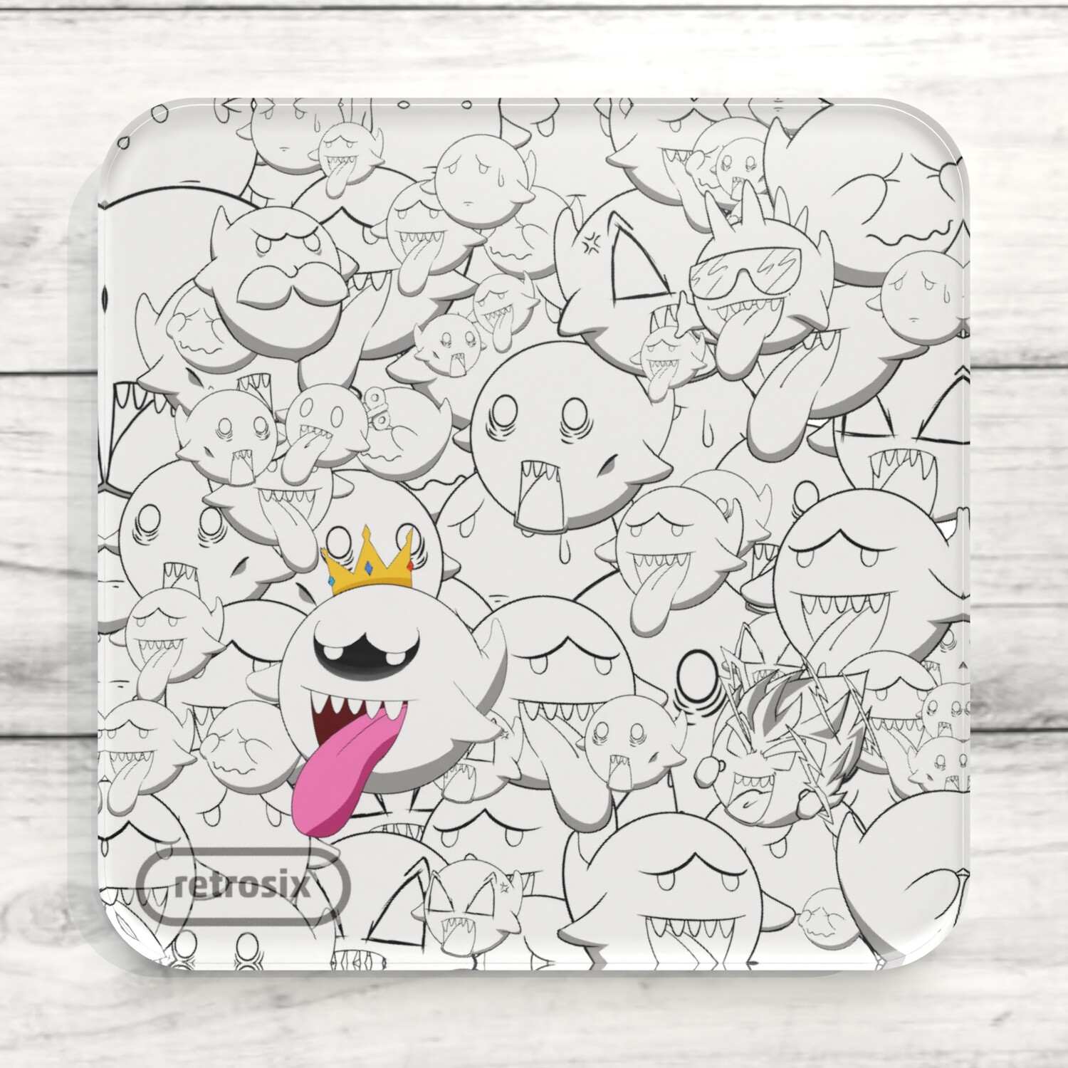 Drinks Coaster (King Boo)