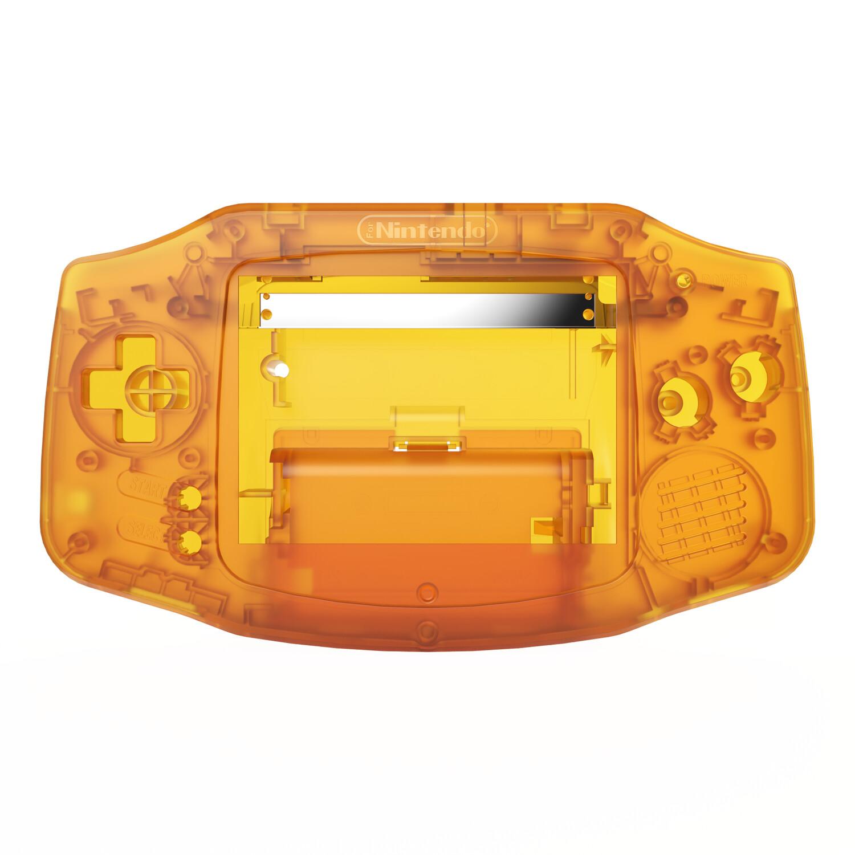 Game Boy Advance Shell (Amber)