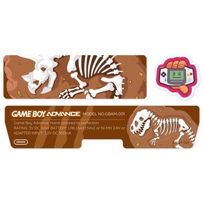 Game Boy Advance Sticker (Jurassic Park)