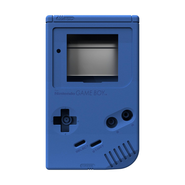 Game Boy Original Shell Kit (Pearl Blue)