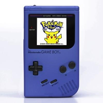 Game Boy Original: Prestige Edition (Pearl Blue)