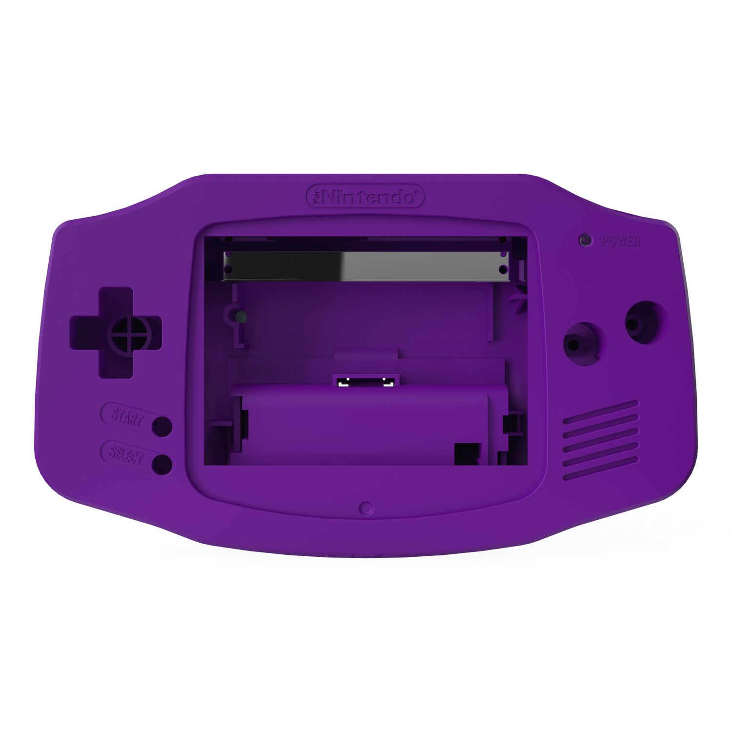 Game Boy Advance Shell (Solid Purple)