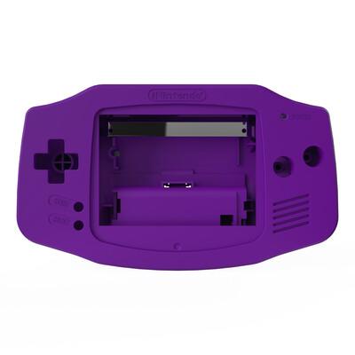 Game Boy Advance Shell (Solid Purple)