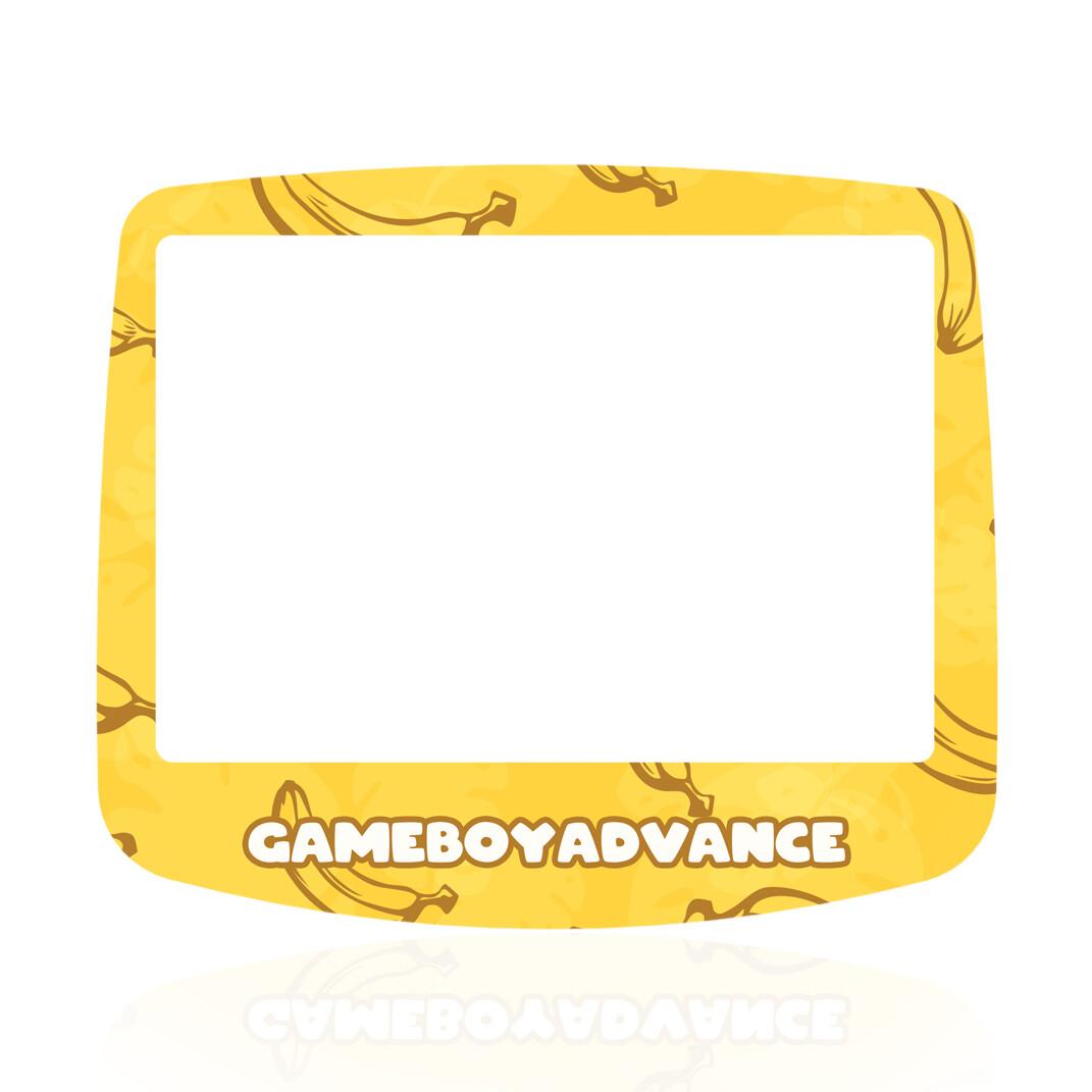 GBA IPS Glass Screen (UV Banana Fruity)